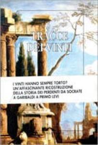 Tracce dei vinti - copertina
