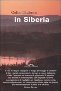 In Siberia - Colin Thubron - copertina