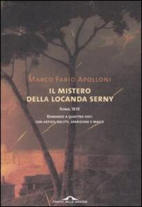 Il mistero della locanda Serny - Marco F. Apolloni - copertina