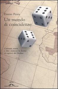 Un mondo di coincidenze - Ennio Peres - copertina