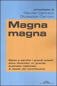 Magna magna - Davide Carlucci,Giuseppe Caruso - copertina