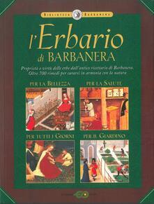 L' erbario di Barbanera - copertina