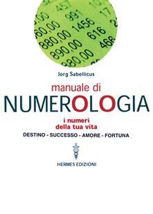 Milanospringparade.it Manuale di numerologia Image