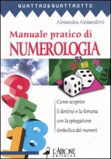 Tegliowinterrun.it Manuale pratico di numerologia Image
