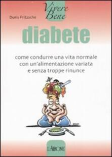 Radiospeed.it Diabete. Come condurre una vita normale con un'alimentazione variata e senza troppe rinunce Image
