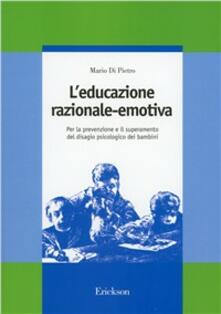Aboutschuster.de L' educazione razionale-emotiva. Per la prevenzione e il superamento del disagio psicologico dei bambini Image