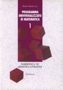 Programma individualizzato di matematica. Vol. 1