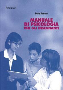 Writersfactory.it Manuale di psicologia per gli insegnanti Image
