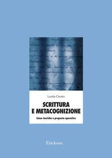 Antondemarirreguera.es Scrittura e metacognizione. Linee teoriche e proposte operative Image