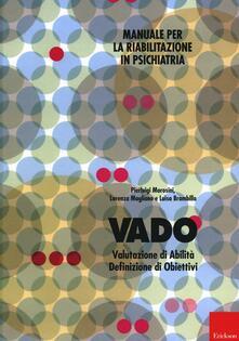 Listadelpopolo.it Vado. Manuale per la riabilitazione in psichiatria Image
