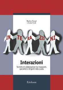Listadelpopolo.it Interazioni. Tecniche di collaborazione tra insegnanti, specialisti e dirigenti nella scuola Image
