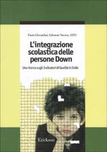 L integrazione scolastica delle persone Down. Una ricerca sugli indicatori di qualità in Italia.pdf
