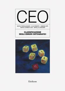 Squillogame.it Test CEO. Classificazione degli errori ortografici Image