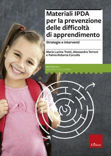 Radiospeed.it Materiali IPDA per la prevenzione delle difficoltà di apprendimento. Strategie e interventi Image