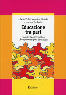 Criticalwinenotav.it Educazione tra pari. Manuale teorico-pratico di empowered peer education Image