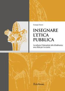 Parcoarenas.it Insegnare l'etica pubblica. La cultura e l'educazione alla cittadinanza: una sfida per la scuola Image