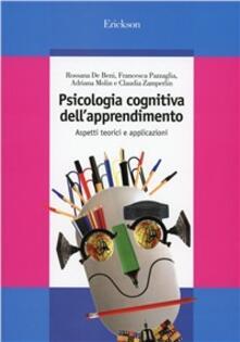 Luciocorsi.it Psicologia cognitiva dell'apprendimento. Aspetti teorici e applicazioni Image
