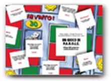 Milanospringparade.it Un gioco di P.A.R.O.L.E. Sviluppo delle competenze metafonologiche di base e delle abilità di lettura. Con carte e tabellone Image