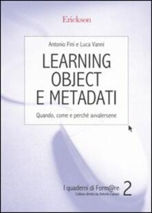Learning object e metadati. Quando, come e perché avvalersene.pdf