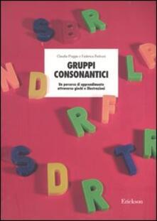Filippodegasperi.it Gruppi consonantici. Un percorso di apprendimento attraverso giochi e illustrazioni Image