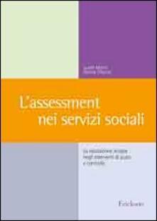 Fondazionesergioperlamusica.it L' assessment nei servizi sociali. La valutazione iniziale negli interventi di aiuto e controllo Image