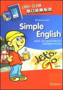 Radiospeed.it Simple English. Attività per l'apprendimento dell'inglese di base. Con Audiocassetta. Con CD-ROM Image