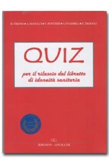 Premioquesti.it Quiz per il rilascio del libretto di idoneità sanitaria Image