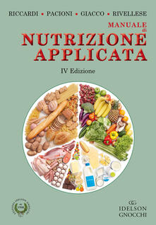 Capturtokyoedition.it Manuale di nutrizione applicata. Ediz. illustrata Image