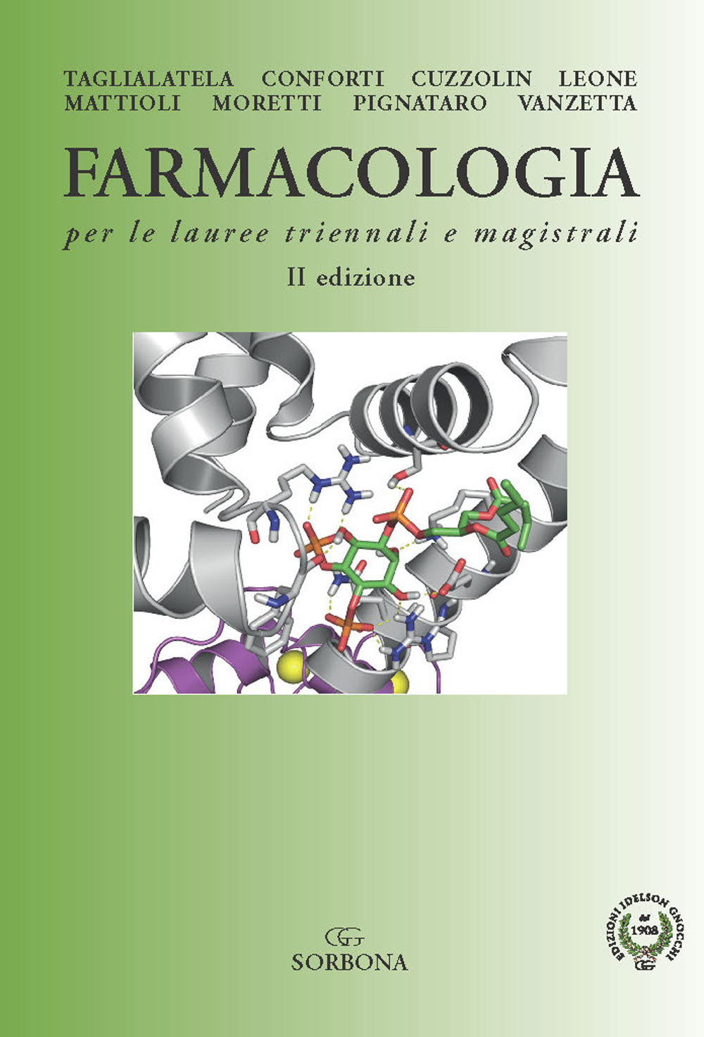 Image of Farmacologia per le lauree triennali e magistrali