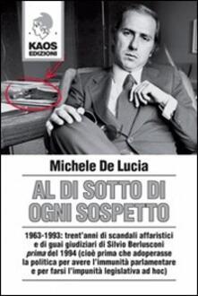 Al di sotto di ogni sospetto - Michele De Lucia - copertina