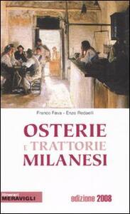 Osterie e trattorie milanesi 2008