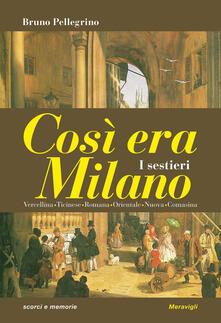 Promoartpalermo.it Così era Milano. I sestieri Image