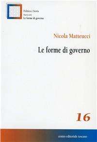 Le Forme di governo