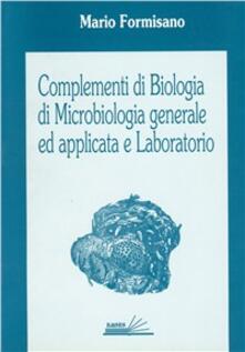 Tegliowinterrun.it Complementi di biologia, di microbiologia generale ed applicata e laboratorio Image