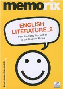 Secchiarapita.it English literature. Vol. 2: From the early romantics to the modern times. Image