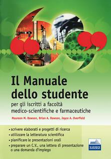 Chievoveronavalpo.it Il manuale dello studente per iscritti a Facoltà medico-scientifiche e farmaceutiche Image