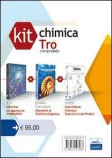 Parcoarenas.it Kit chimica Tro: Elementi di chimica organica-Chimica un approccio molecolare-Chimica esercizi e casi pratici Image
