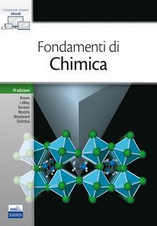 Ristorantezintonio.it Fondamenti di chimica. Con e-book Image