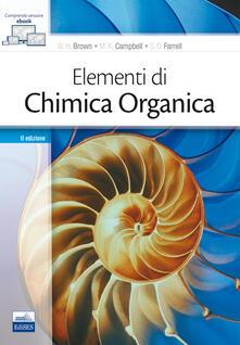 Elementi di chimica organica. Con Kit di modelli molecolari.pdf