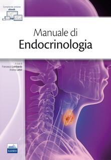 Steamcon.it Manuale di endocrinologia. Con Contenuto digitale (fornito elettronicamente) Image