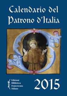 Winniearcher.com Calendario del patrono d'Italia 2015 Image