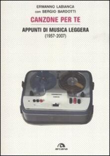 Canzoni per te. Appunti di musica leggera (1957-2007).pdf