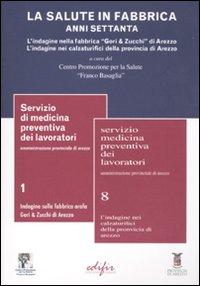 Image of La salute in fabbrica. Anni Settanta. L'indagine nella fabbrica «Gori & Zucchi» di Arezzo. L'indagine nei calzaturifici della provincia di Arezzo