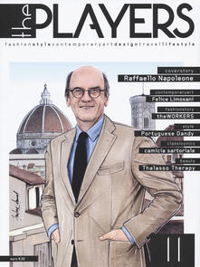 Grandtoureventi.it The players. Magazine. Fashion style, contemporary art, design, travel, lifestyle. Vol. 11 Image