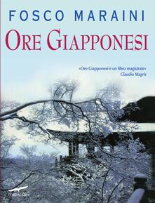 Ore giapponesi - Fosco Maraini - copertina