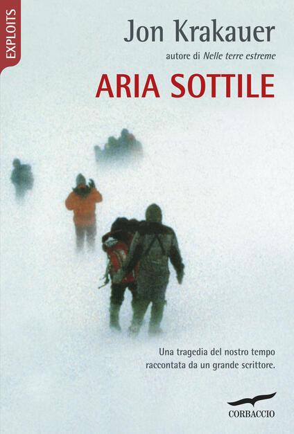 Aria sottile - Jon Krakauer - copertina