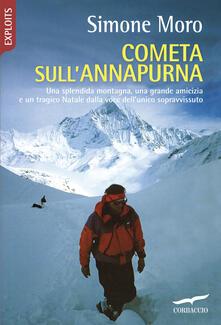 Cometa sull'Annapurna - Simone Moro - copertina