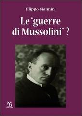 Le «guerre di Mussolini»?