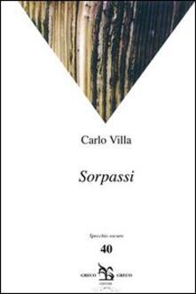 Sorpassi - Carlo Villa - copertina