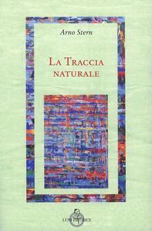 La traccia naturale - Arno Stern - copertina